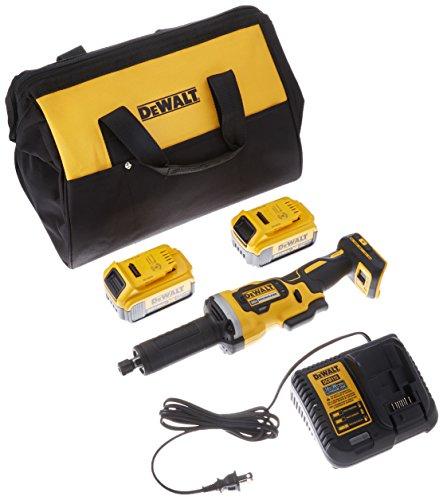DEWALT 20V MAX Die Grinder Kit, Variable Speed, 1-1/2-Inch (DCG426M2)