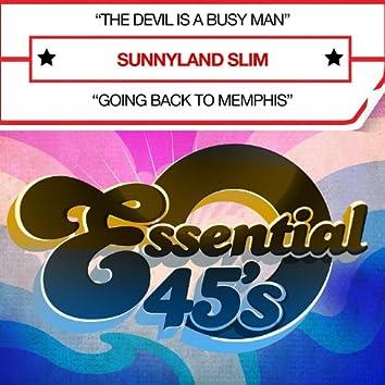The Devil Is A Busy Man (Digital 45) - Single