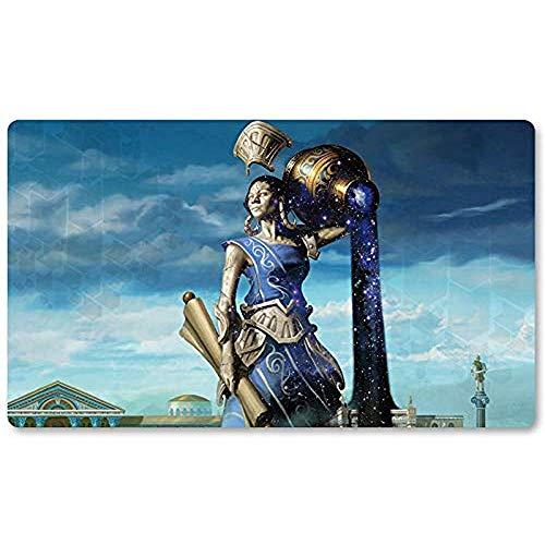 Ephara, God-of-The-Polis - Brettspiel MTG Playmat Tischmattenspiele Mousepad Spielmatte für Yugioh Mon Magic The Gathering 30X80CM