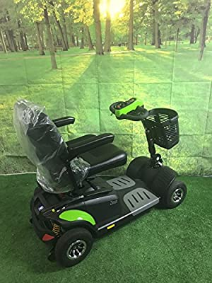 TGA Mobility Zest Plus Portable Mobility Scooter in Green