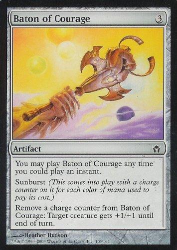 Magic: the Gathering - Baton of Courage - Fifth Dawn