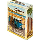 Nostalgic-Art - Volkswagen VW Bulli, Beetle - Ready for The Summer, Ready for The Beach - Bote de Almacenamiento XL