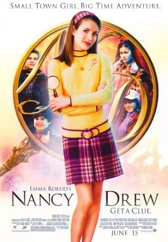 Jigsaw Puzzles 1000 Nancy Drew Movie Poster Style A