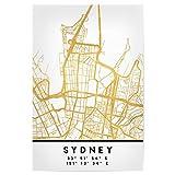 artboxONE Poster 30x20 cm Städte Sydney Australia Street