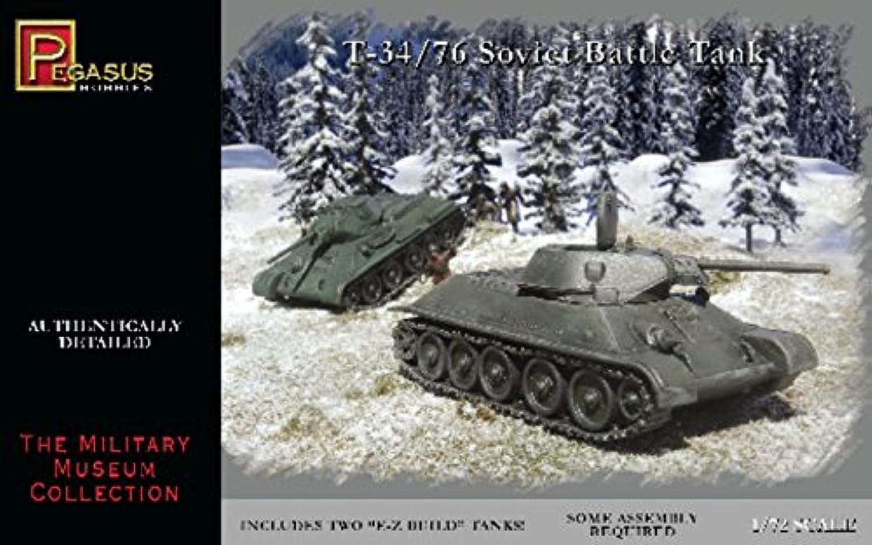 1 72 T34 76 Soviet Battle Tank (2) (Snap)
