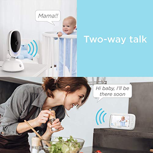 51BH0d0uoZL 12 Best Baby Monitors Under $150–$200 Review [Updated 2021]