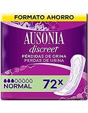Ausonia Discreet Compresas Para Pérdidas De Orina Normal Para Vejigas Hiperactivas x 72