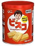 江崎グリコ ビスコ 保存缶 30枚入×5個 保存食 備蓄 災害対策