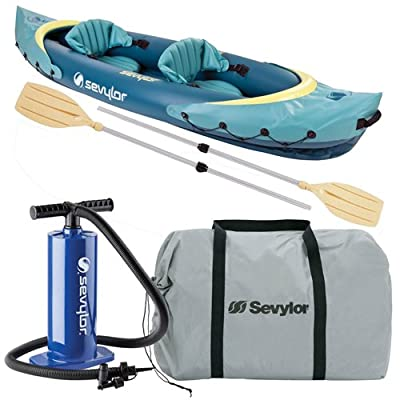2000014330 Sevylor C001 Clear Creek 2 Person Kayak Combo by The Coleman Company, Inc.