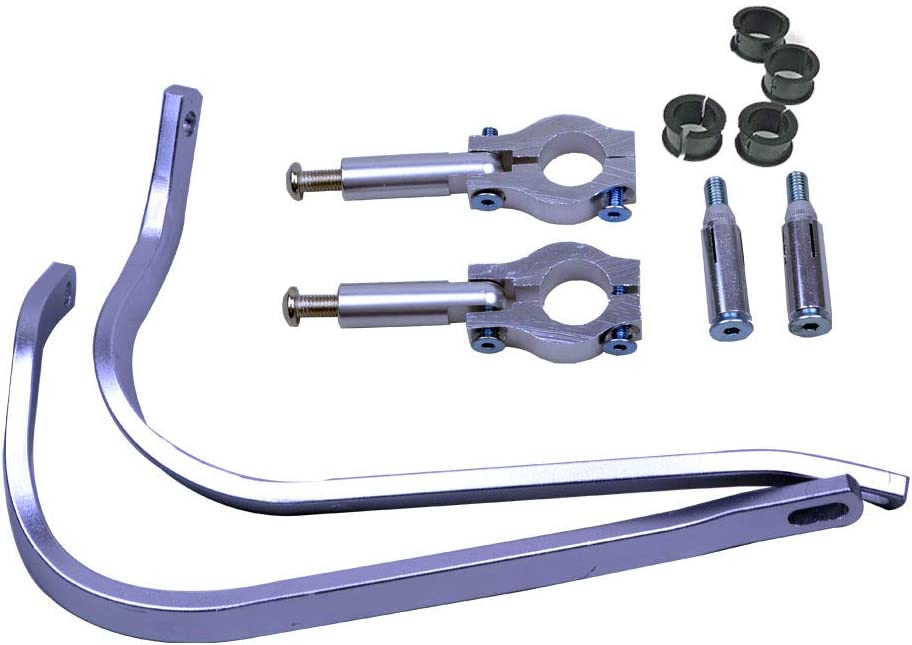FLYPIG Dirt Bike Scooter ATV Motorcross Motorcycle Universal 7//8 22mm Handguard Hand Guards Brush Bar Protection For Yamaha TTR230 TTR250 WR250R WR250F