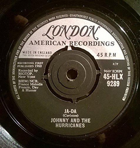 Johnny And The Hurricanes - Ja Da - 7 inch vinyl / 45