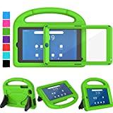 TIRIN Walmart Onn 7 Tablet Case, Onn 7 inch Tablet Case for Kids, Built-in Screen Protector Lightweight Shockproof Handle Stand Kids Case for Walmart Onn 7' Tablet Android 2019 (100005206) - Green