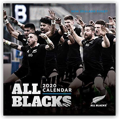 All Blacks - Rugby 2020 - 16-Monatskalender: Original BrownTrout-Kalender [Mehrsprachig] [Kalender] (Wall-Kalender)