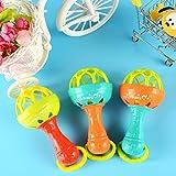 Hemore Baby Rassel Spielzeug Ball Baby Spielzeug Shaker Rassel Beißring Baby Hantel Hand Schütteln...