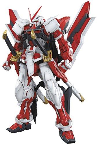 Bandai MBF-P02KAI Gundam Astray Red Frame Figura de Vinillo, 1:1000 Scale