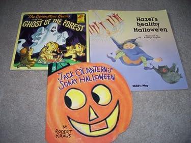 Jack O'Lantern's Scary Halloween, Hazel's Healthy Halloween, Ghost of the Forest (Three Halloween Books)