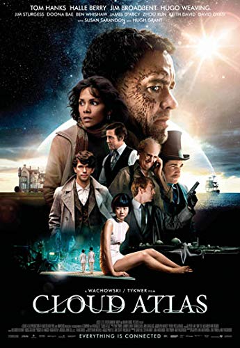 Cloud Atlas Tom Hanks Movie Poster Prints Wall Art Decor Unframed,32x22 16x12 Inches,Multiple Patterns Available