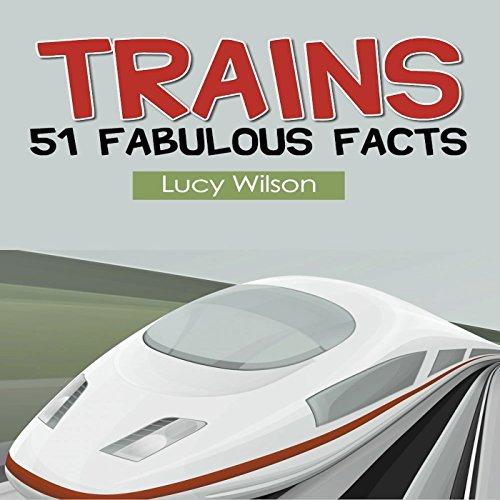 Trains audiobook cover art