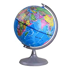 3-IN-1 World Globe: Detailed earth globe geography, LED globe constellations, and a USB plug in nightlight. Constellation Globe: Discover 88 constellations, stars, and navigational lines in the dark; which broaden their imagination through our conste...
