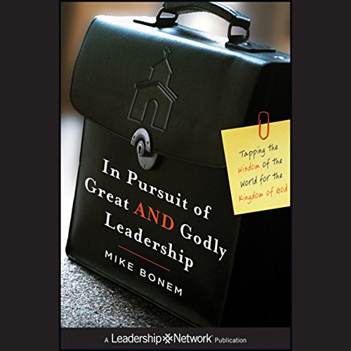 In Pursuit of Great AND Godly Leadership copertina