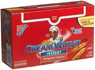Cream Of Wheat Original, Instant Cereal, 12-Count Units (Pack of 3)