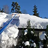Avalanche Original 750 Snow Removal System: Snow Roof Rake with 3 Inch Wheels and Slide Material