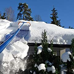 EASILY REMOVE SNOW FROM ROOF: Removes up to a ton of snow per minute, less strenuous than traditional snow rakes, uses gravity to help remove the snow, and saves your back REMOVE HARD TO REACH SNOW: Great for heavy snow removal and reaching the hard-...