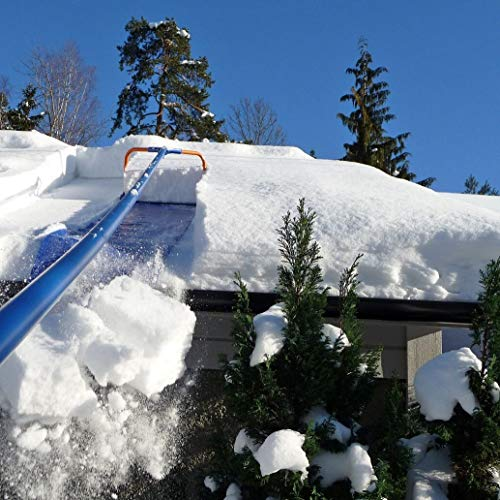Avalanche! Original 750 Snow Removal System: Snow Roof Rake with 3 Inch Wheels and Slide Material