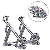 223 piezas Juegos de construccion de soporte con chasis de abrazadera elástica para LEGO Star Wars Millennium Falcon...