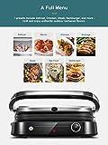 Zoom IMG-1 aicook bistecchiera elettrica griglia 2100
