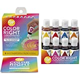 Wilton Color Right Performance Food Coloring Set, Achieve Consistent Colors for Icing, Fondant and...
