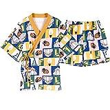 Frauen Nachtwäsche Baumwolle Cartoon Print Plus Size Frauen Kurzarm Kimono Nachthemd Bademantel