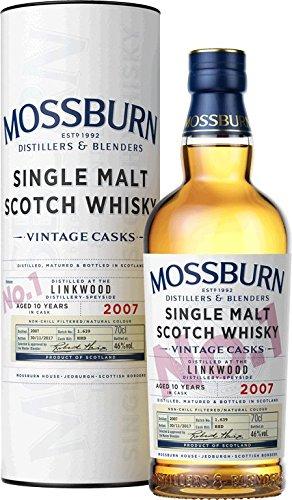 Mossburn Distillers Vintage Cask No. 1 - Speyside Linkwood Distillery Single Malt Whisky (1 x 0.7 l)