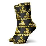 General Brand Quarter Chaussettes,Unisex Crew Socks,Chaussette Basse De Sport,Rugby Alaska Strong Low Cut Athletic Socks Chaussettes De Course Pour Femmes Hommes