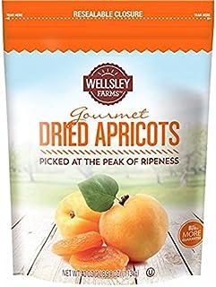 Wellsley Farm Dried Apricots 1 Bag (40 Oz) (pack of 6) A1