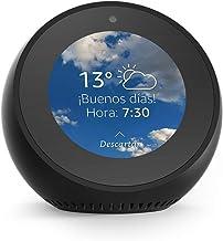 Amazon Echo Spot - Reloj despertador inteligente con Alexa, negro