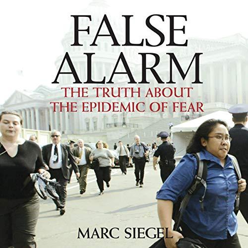 False Alarm audiobook cover art