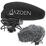 Azden SMX-30 Stereo/Mono Switchable Video Microphone with Furry Windshield Cover