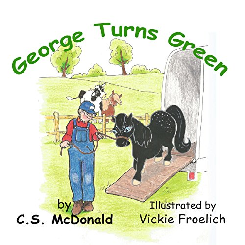 George Turns Green audiobook cover art