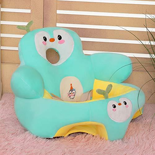 FCFLXJ Plüsch Baby Baby Sitz Sitz Sofa, Baby Stuhl Cartoon Tier Baby Baby Sitz Sitz Sofa Lernen Sitzen Soft Stuhl, Baby Sitz Fütterung Stuhl,E