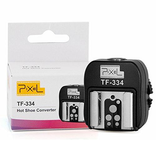 Pixel TF-334 adaptador de zapata de flash con entrada para conexión a ordenador sony para Canon/Nikon