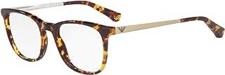 Armani EA3153 Eyeglass Frames 5765-51 - Havana EA3153-5765-51