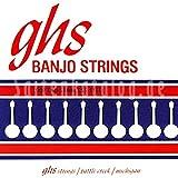 GHS 230 Tenor Banjo Johnny Baier Fósforo Bronce media (lazo)
