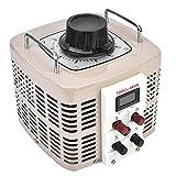 Regulador de voltaje de 220 V, regulador de voltaje de tamaño pequeño de alta eficiencia, funcionamiento confiable con 1 regulador de voltaje para el hogar(TDGC2-5KVA)