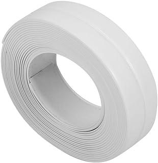Dichtungsband Selbstklebend, 3.2m Wasserdichtes Flexibel Küche Fugenband Klebeband für Badezimmer Badewanne Toilette Dusche Boden Wand Kantenschutz22mm Weiß