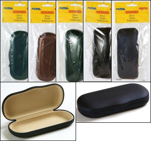 Set van 5 brillenkoker Filra, 5 verschillende harde cases