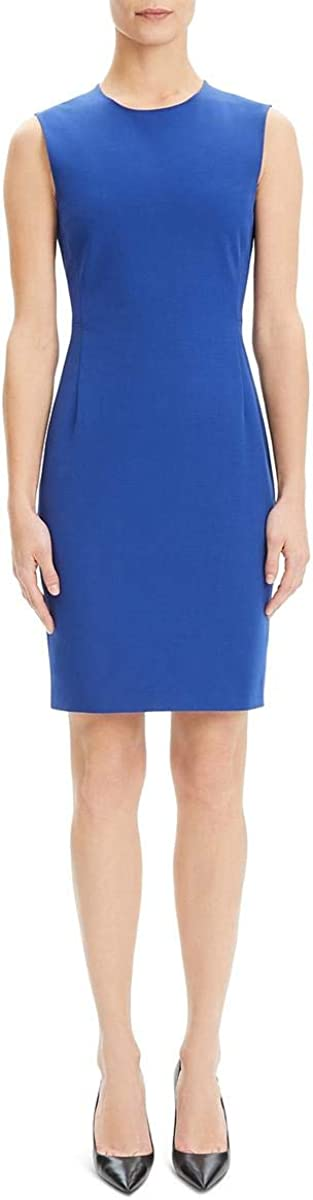 Theory Women's Fitted Sleeveless Dress
