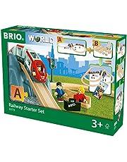 BRIO- Railway Starter Set Juego Primera Edad, Multicolor (33773)