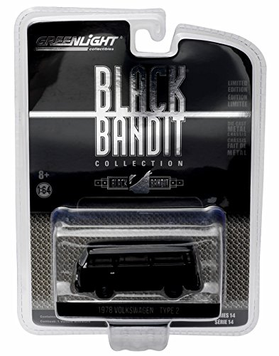 1978 VOLKSWAGEN TYPE 2 Black Bandit Collection Series 14 2016 Greenlight Collectibles Limited Edition 1:64 Scale Die-Cast Vehicle
