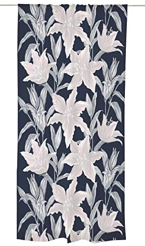 Lily Black out - Cortina (140 x 250 cm), Color Azul